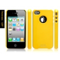 SGP iPhone 4 Case Ultra Thin Vivid Series [Reventon Yellow] (SGP06937)